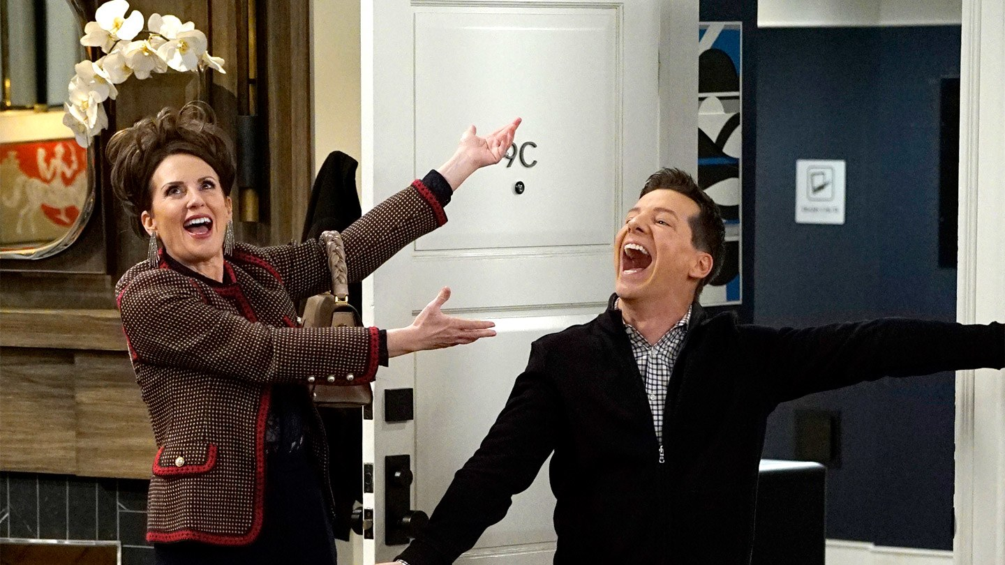 Sean Hayes e Megan Mullally